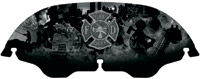 Kuryakyn Firefighter Windshield for Touring Models
