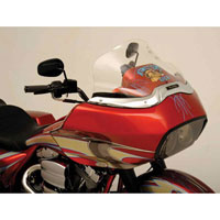 Klock Werks 12″ Clear Flare Windshield