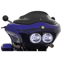 Klock Werks Black Flare Windshield 8″