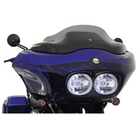 Klock Werks Dark Smoke Flare Windshield 8″