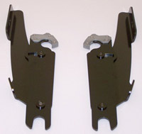 Memphis Shades Fats/Slim Windshield Mounting Plates-Only