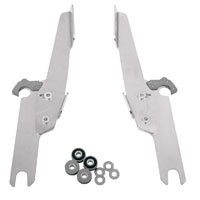 Memphis Shades Fats/Slims/Batwing Fairing Polished Trigger Lock Mount Kit