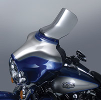 National Cycle 10″ Clear Wave Windshield