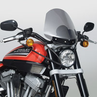 National Cycle Light Tint Gladiator Windshield with Black Standard Mount for Sportster