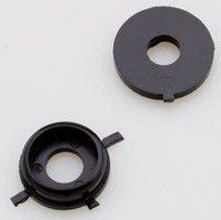 V-Twin Manufacturing OE Fairing Windshield Mount Pad and Washer Set