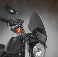 National Cycle Gladiator Dark Tint Windshield with Black Hardware