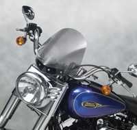 National Cycle Gladiator Light Tint Windshield with Chrome Hardware