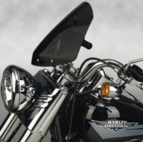 National Cycle Gladiator Dark Tint Windshield with Chrome Hardware