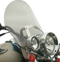 Klock Werks Tinted Billboard Windshield for Softail