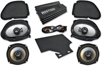 Hogtunes Big Ultra Amp and Speaker Kit for Road Glide