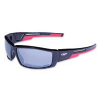 Global Vision Eyewear Sly CF Black/Red Sunglasses w/Mirror Lens