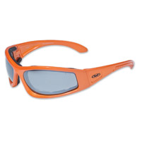 Global Vision Eyewear Triumphant CF1 Orange Sunglasses with Mirror Lens