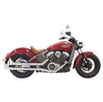 Bassani Chrome Fishtail Mufflers