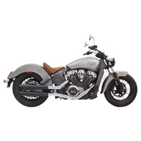 Bassani 3″ Black Slip-On Muffler