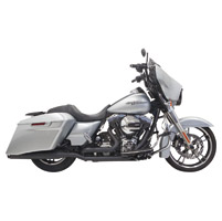 Bassani Black True Dual Down Under Exhaust System