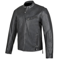 Speed and Strength Men's American Rising Black Leather Jacket
