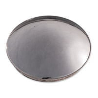 Paughco Chrome Baby Moon Hub Cap