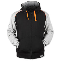 Speed and Strength Men's Cruise Missile Gray/Orange/Black Hoodie
