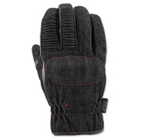 Speed and Strength Men's GridLock Black Denim Glove