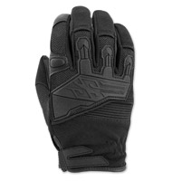 Speed and Strength Men's Hammer Down Black Leather Gloves