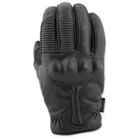 Speed and Strength Men's Quick And The Dead Black Leather Gloves