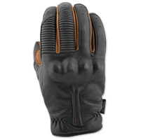 Speed and Strength Men's Quick And The Dead Brown/Black Leather Gloves