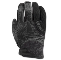Speed and Strength United By Speed Black Mesh Gloves