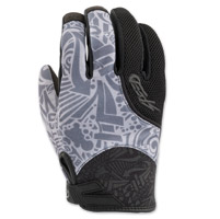 Speed and Strength United By Speed Gray Mesh Gloves