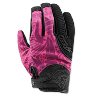 Speed and Strength United By Speed Pink Mesh Gloves