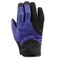 Speed and Strength United By Speed Purple Mesh Gloves