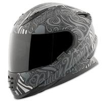 Speed and Strength SS1310 Black Heart Gray/Black Full Face Helmet