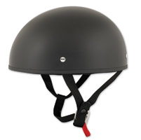 Speed and Strength SS210 Solid Speed Matte Black Half Helmet