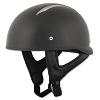 Speed and Strength SS310 Solid Speed Matte Black Half Helmet