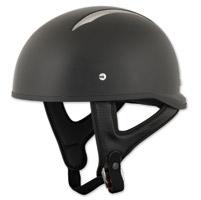 Speed and Strength SS310 Solid Speed Matte Black Half Helmet