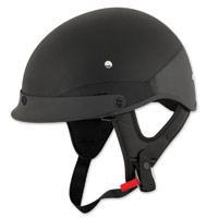 Speed and Strength SS410 Solid Speed Gloss Black Half Helmet
