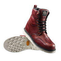 Roland Sands Design Men's Mojave Oxblood Leather Boots