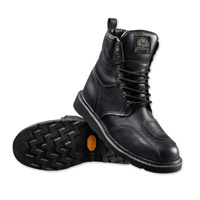 Roland Sands Design Men's Mojave Black Leather Boots