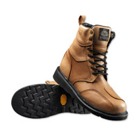 Roland Sands Design Men's Mojave Whiskey Leather Boots