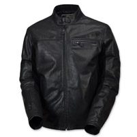 Roland Sands Design Men's Ronin Black OPS Black Leather Jacket