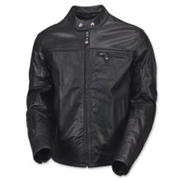 Roland Sands Design Men's Ronin Perforated Black Leather Jacket
