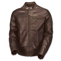 Roland Sands Design Men's Ronin Perforated Tobacco Leather Jacket
