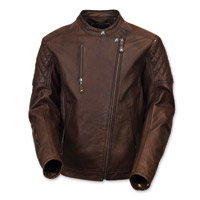 Roland Sands Design Men's Clash Tobacco Leather Jacket