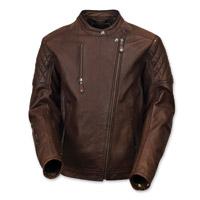 Roland Sands Design Men's Clash Tobacco Leather Jacket