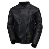 Roland Sands Design Men's Clash Black OPS Black Jacket