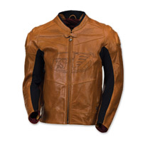 Roland Sands Design Men's Zuma Timber Leather Jacket