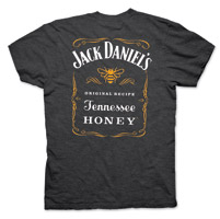 Jack Daniel's Men's Tennessee Honey Charcoal T-Shirt