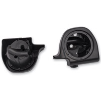 HogWorkz 6-1/2″ Vivid Black Lower Fairing Speaker Pods