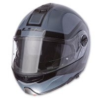 LS2 Strobe Civic Dark Blue Modular Helmet
