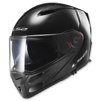 LS2 Metro Solid Gloss Black Modular Helmet