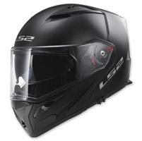 LS2 Metro Solid Matte Black Modular Helmet